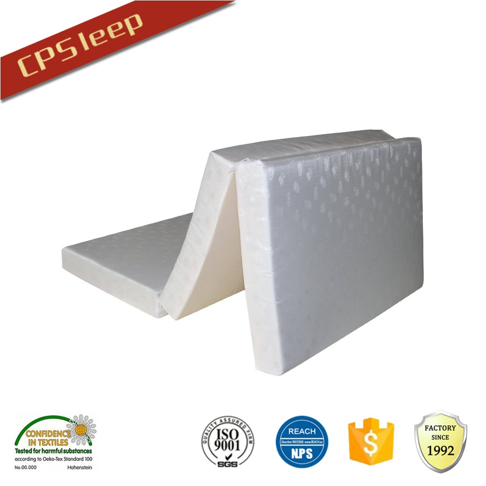 3 folding mattress memory foam mattress topper economical bed mattress topper Chinese manufacturer