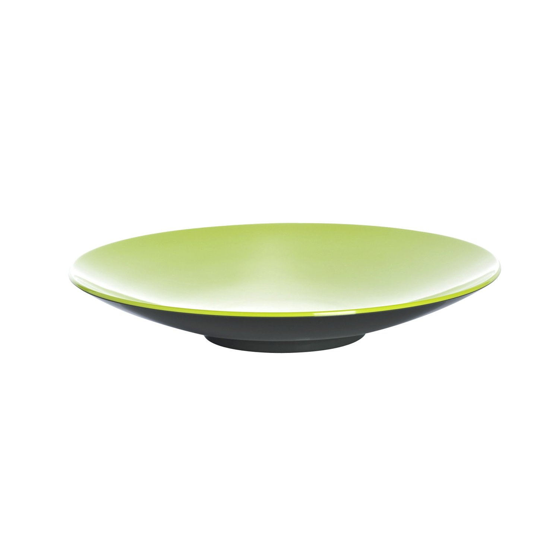 Gimex pasta plate Lemon grey