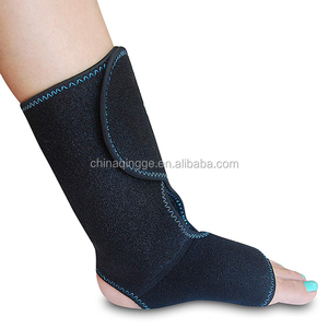 Foot&Ankle Pain Relief Ice Wrap with 2 Hot/Cold Gel Packs for Achilles Tendon Injuries