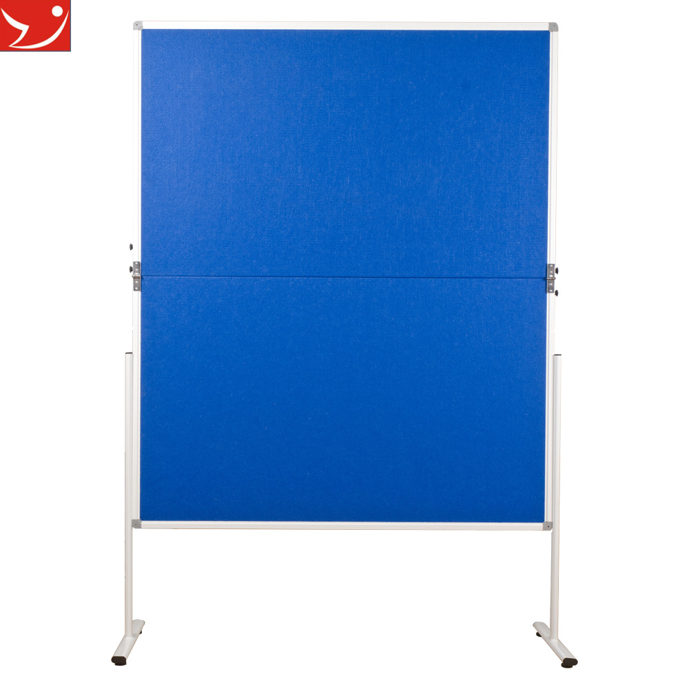 standing folding screen bulletin notice screen board divider pin board