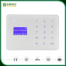 GWIEC China Products LCD Screen Best GSM Wolf Guard Security Alarm System For Homes