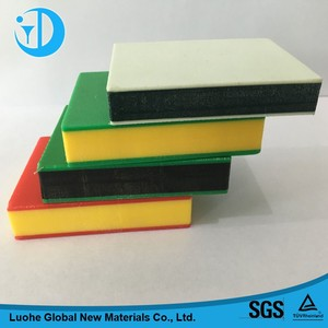 HDPE sheet/panel/board/plate manufacturer , thick plastic sheet