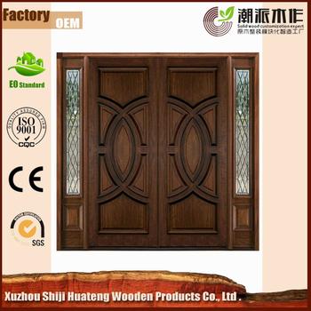 Various unique design main double door wooden door buy for Modern wooden main double door design