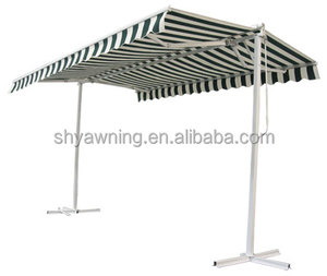 Professional Retractable Double Side Awning