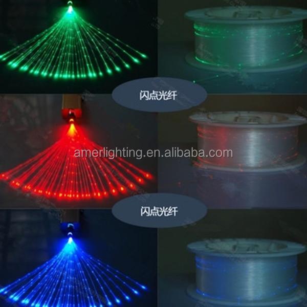 Promosyon 0.75mm 1.0mm 1.5mm 2.0mm 2.5mm 3.0mm pmma uç yayan uç kızdırma plastik fiber optik