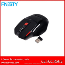 2017 New Rechargeable 2.4G Usb Wireless Optical Gaming Mouse