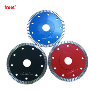4/5/6/7/8 inch thin turbo Diamond disc Saw Blade for cutitng Tiles Ceramic Porcelain