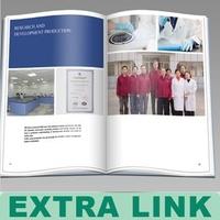 Alibaba China New Product Professional Custom coloring Printing catalog selection decoration