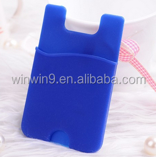 mobile phone accessories,card pocket for phone,sticky card pocket wallet
