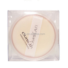 Clear Christmas Plastic Packaging Box for Pressed Powder