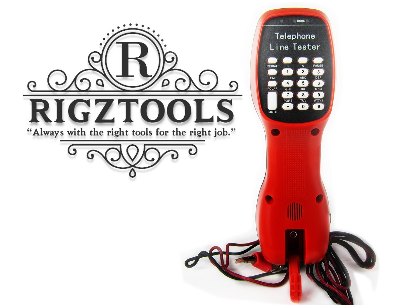 Cheap Test Telephone Numbers Find Deals On The Fault Audible Short Circuit Finder Get Quotations Set W Piercing Clips By Rigztools Rttt 800 Red