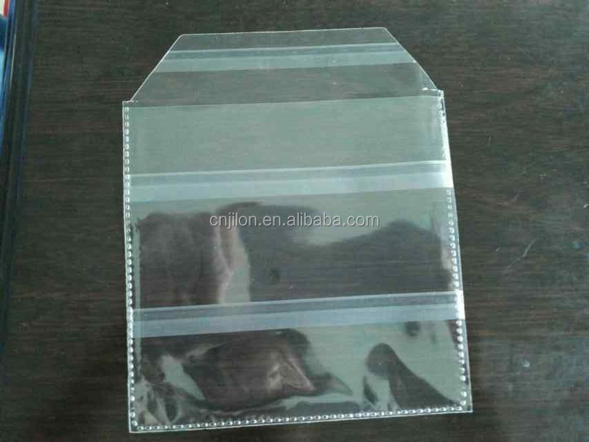 China manufacturer wholesale plastic adhesive backed CD DVD bag/CD sleeves,  View adhesive backed plastic bags, jilongyizu Product Details from Shantou