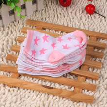 2016 Hot New Autumn And Winter Warm New Born Baby Socks 1 Bag With 5 Pairs