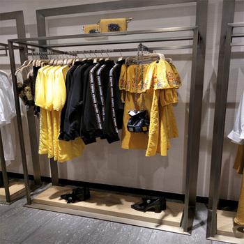 e8585480 ZARA Fashion Racks Large Metal Hanging Garment Stand /Clothes Display Racks  For Shop
