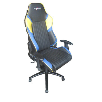 Leather Office Chair Racing Style Racing Seat Gaming Chair With Armrest 2031