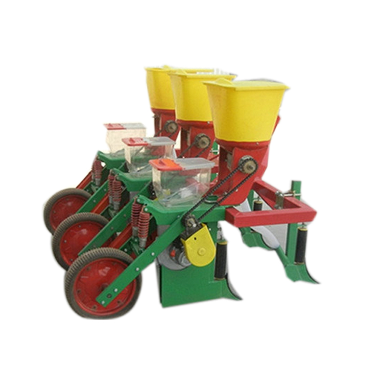 Hand Push Corn Planter Machine Small Tractor Corn Planter Buy 4