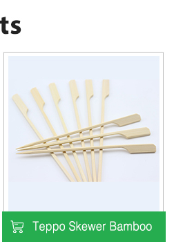 Eco-Friendly wholesale Disposable Decorative color bamboo fruit cocktail picks