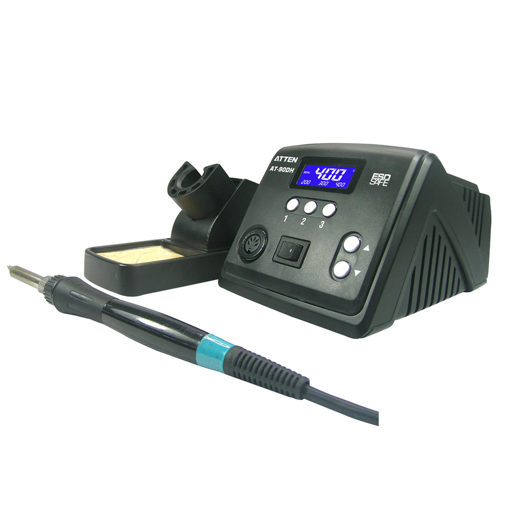 Free Shipping +Free Tax //NEW Professional soldering station for Atten AT-90DH with Display