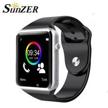 2016 A1 Wristwatch Bluetooth Smart Watch Sport Pedometer SIM Card Camera Smartwatch for Android Smartphone