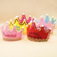 Cheap 1st Birthday Princess Hat 3f0a7b37fbae