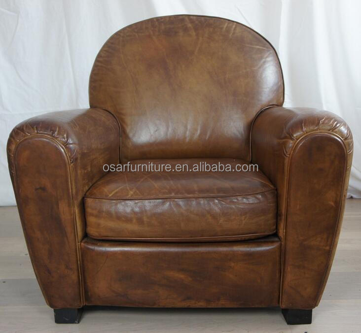 Hotel Furniture Real Leather Club Chair Antique Sofa Chair - Buy Antique  Sofa Chair,Real Leather Sofa Chair,Real Leather Antique Sofa Chair Product  on ... - Hotel Furniture Real Leather Club Chair Antique Sofa Chair - Buy