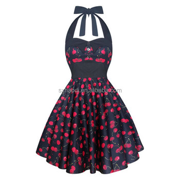 HD-159 50s vintage style dress rockabilly dresses Party Prom Dress Retro 50's pin up vintage clothing