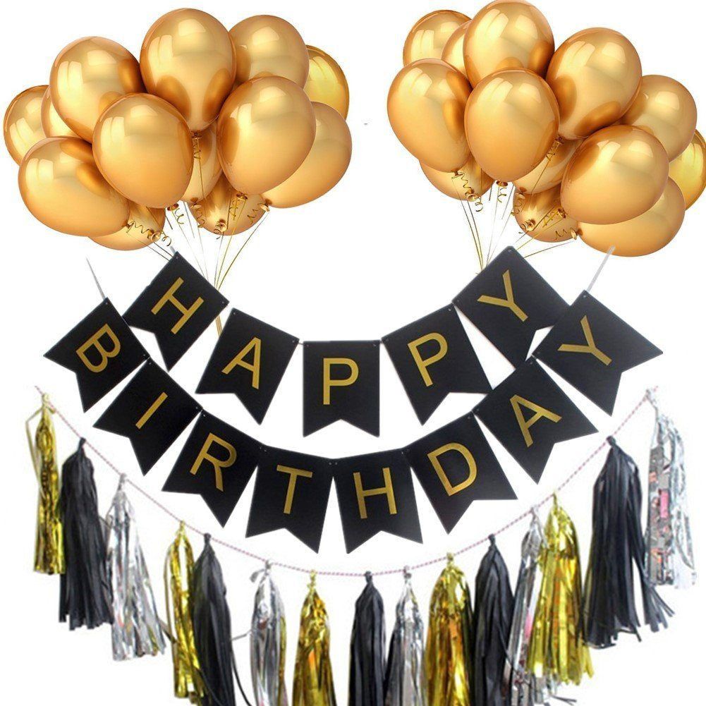 buy bigthing happy birthday banner party ballons decorations