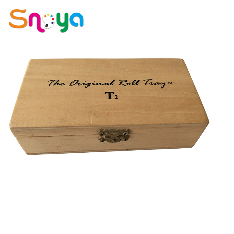 Natural style new creative storagewithdividers smallestodecorate long wooden boxes for sale
