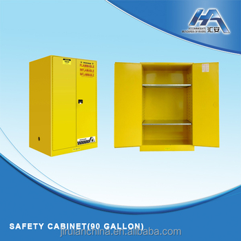 90 Gallon Laboratory Use Fireproof Flammable Chemical Storage Cabinet ,  Chemical Safety Cabinet