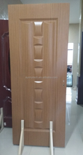 2017 new fireproof wood grain room door design,hotel door designs