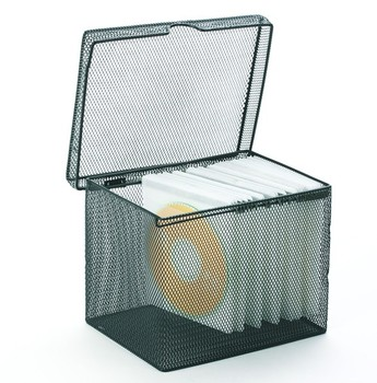 Metal Mesh CD Rack CD Storage Box with Lid  sc 1 st  Alibaba & Metal Mesh Cd Rack Cd Storage Box With Lid - Buy Metal Mesh Cd Rack ...
