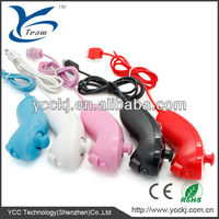 OEM price For Wii remote controller and nunchunk 2 in 1