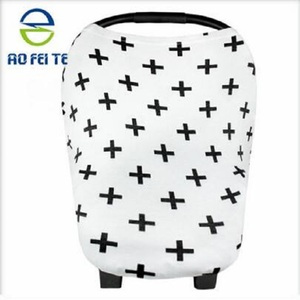 Versatile Nursing Breastfeeding Cover Scarf Baby Car Seat Canopy, Shopping Cart, Stroller, Carseat Covers for Girls and Boys