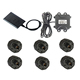 External tpms sensor receiver for heavy duty vehicles trucks buses RVs with Rs232 serial port easy installation tpms