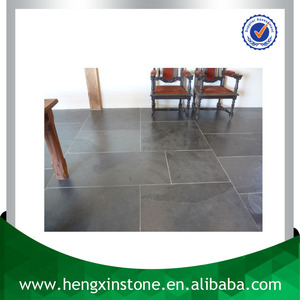 China Factory Direct Sales Cheap 60*30*2cm Thick Polished Surface Rectangle Light Blue Flooring Slate Tile