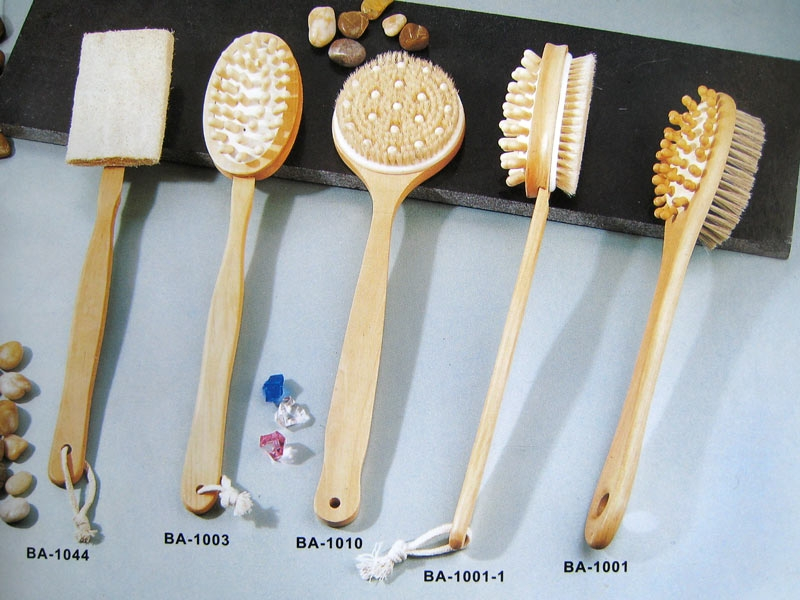 Bath Body Brush Set, Long Handle Shower Brush