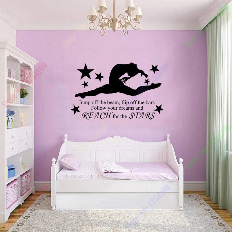 Popular Gymnastics Wall Art-Buy Cheap Gymnastics Wall Art ...
