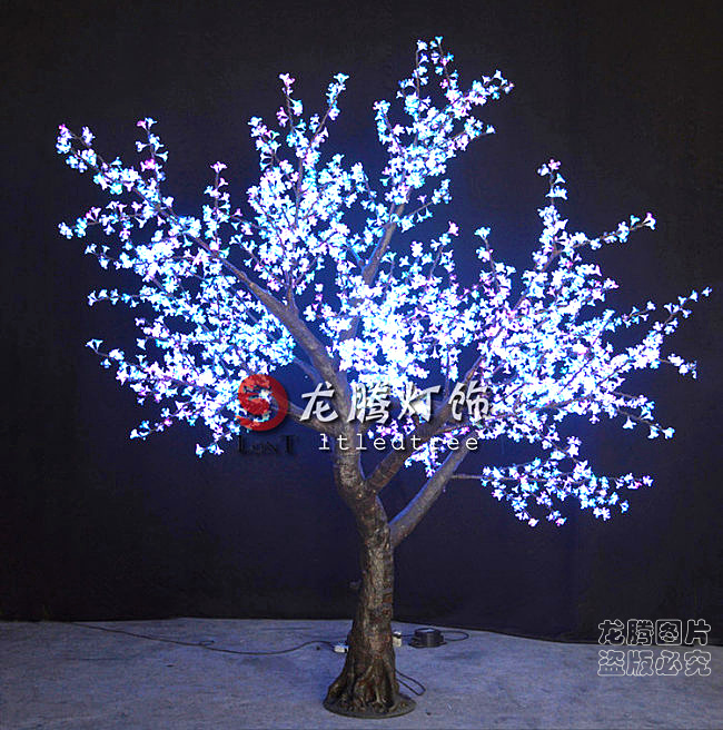 Rgb Color Outdoor Artificial Lighted Trees Buy
