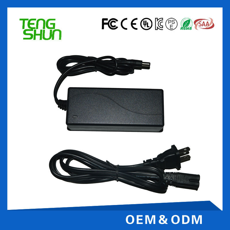 12v 13.8v 2a desktop automatic float lead acid battery charger/dc power adapter supply