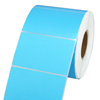 blue thermal transfer label, 80x50mm, 1000 stickers each roll barcode label rolls