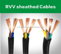 4core rvv cable and electrical wire cable and RVV wires and cables