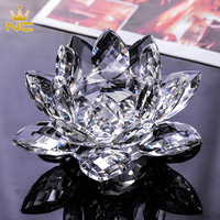 High End Crystal Lotus Flower For Wedding Decoration Wedding Door Gift Wedding Guests Souvenirs