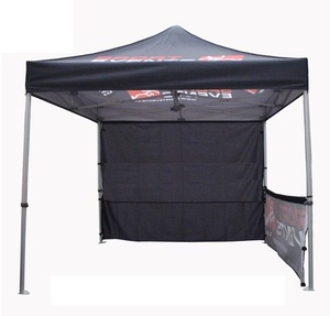 Custom Outdoor 3*3 Advertising Canopy Tent Four Folding Sunshade Stall