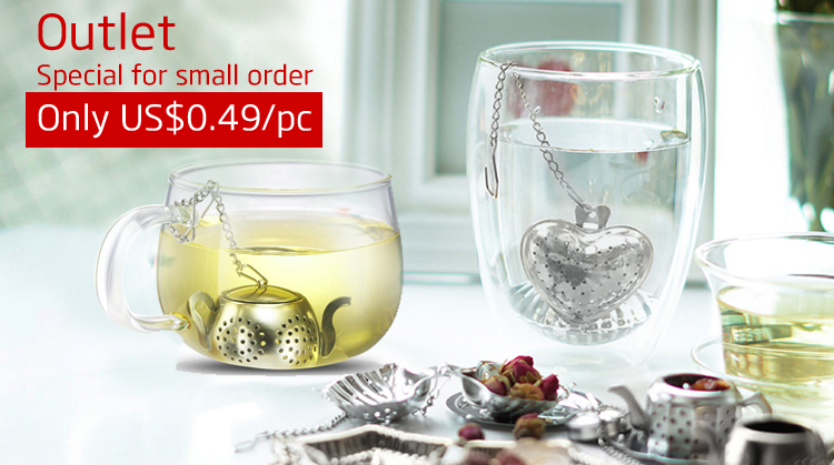 ZY-S3062 Star Shaped Stainless Steel Tea bag