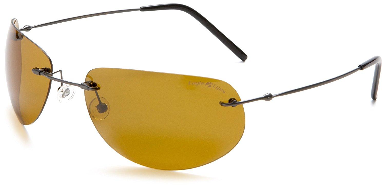 4d559fb28e Get Quotations · Eagle Eyes UltraLite Titanium Elipsys Sunglasses