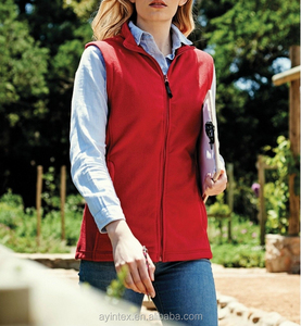 Women Promotion Polar Fleece sleeveless jacket