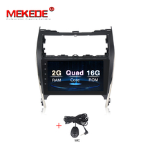 Mekede 10 pollici full touch Android7.1 4 core T3 per Toyota <span class=keywords><strong>Camry</strong></span> America del Nord <span class=keywords><strong>2012</strong></span>-2015 auto Lettore DVD di navigazione GPS Radio