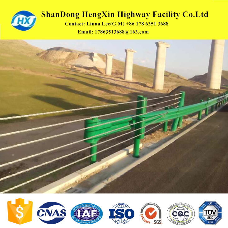 wholesale prestressed active guard rail highway guardrail accessories catalog roadway w beam china