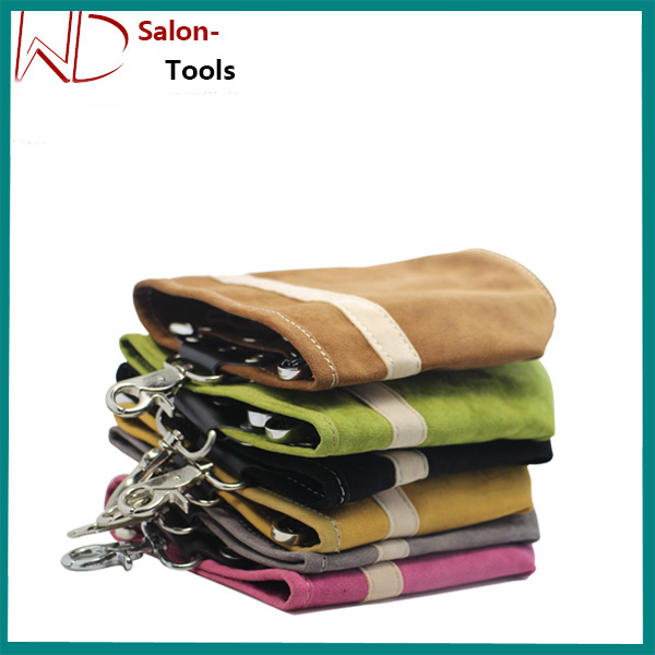 real leather hairdressing scissor pouches holsters with OEM, factory price