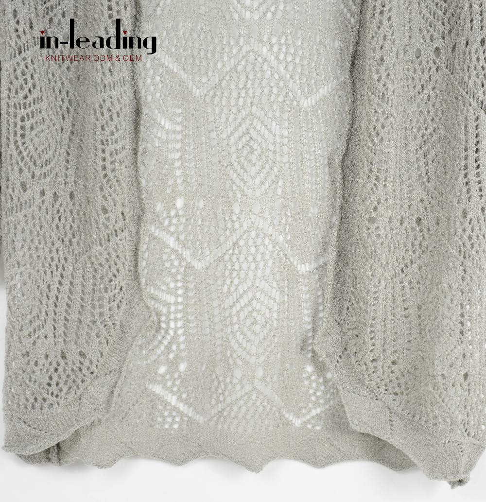 2017 Primavera Tejido A Mano Suéteres De Lana Crochet Diseño Suéter ...